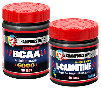 Набор «SPORTAMIN® ВСАА + L-CARNITINE Weight control»