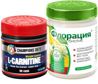 "Набор ""Флорация® + L-CARNITINE Weight control"""