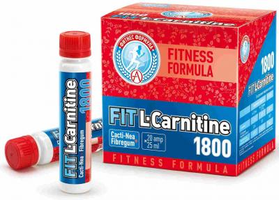 Fit L-Carnitine 1800 (20 amp х 25 ml)